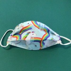 Child's Unicorn Face Mask-Free with $50 purchase